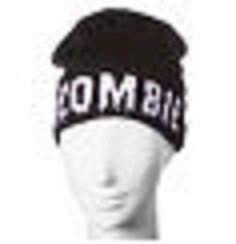 Men's Black Cuff Beanie Glow in the Dark Zombie - Mossimo Supply Co. (Mossimo Supply Co For Men)