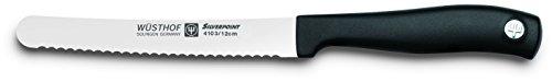 Brunch Knife - Wusthof Silverpoint II 4.5-Inch Serrated Brunch Knife