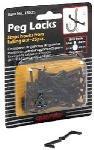 Crawford Prod Div Of Jarden Safety 18025 Peg Locks for Pegboard, Pack of 12
