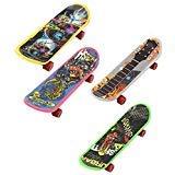 Finger Board - TOOGOO(R)Mini 4 Pack Finger Board Tech Deck Truck Skateboard Toy Gift Kids Children Gift 95mm