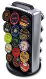 keurig coffee lazy susan - Keurig K-Cup Carousel Tower, Black