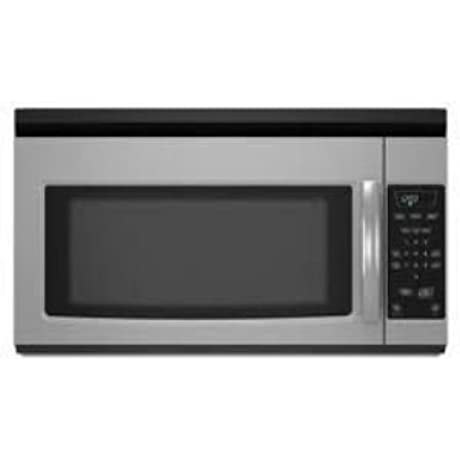 Amana 1 5 Cu Ft Over The Range Microwave AMV1150VAS Stainless Steel