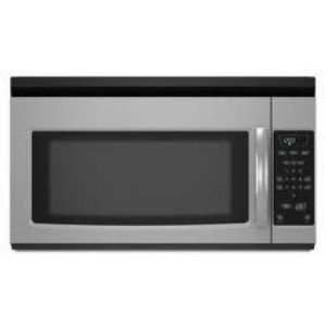 Amana 1.5 cu. ft. Over-the-Range Microwave, AMV1150VAS, Stainless Steel : Microwaves are pretty standard, and this one does what it is