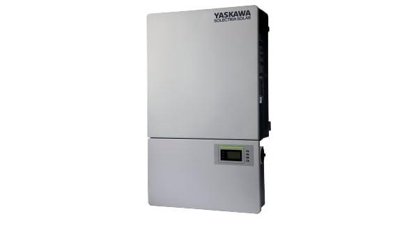 Amazon com : Yaskawa-Solectria Solar 28kW 480VAC TL Inverter