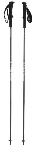 Black Diamond Ultra Distance Trekking Pole, 110cm, Carbon/Process Blue
