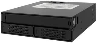 RaidSonic ICY DOCK - Caja backplane para 2 Discos SAS/SATA o SSD ...