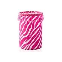 Pink Zebra Fabric Shade