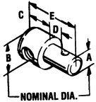 Morse controls teleflex pivot 30 ser 1/4 dia