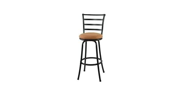 Awe Inspiring Amazon Com Mainstays Metal Swivel Bar Stool 29 Black By Machost Co Dining Chair Design Ideas Machostcouk