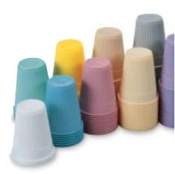 Multi Use Drinking Plastic Cups (1000ps).05 oz, Gray