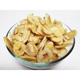 (Un-Sweetened Banana Chips Dried 3 lbs-CandyMax-5% off purchase of 3 any items!)