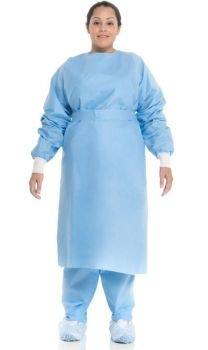 Kimberly Clark Procedure Gown w/Knit Cuffs, X-Large, 60 per Case