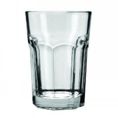 Anchor Hocking 7732U 3-3/8'' Diameter x 4-7/8'' Height, 12 oz New Orleans Beverage Glass (Case of 36)