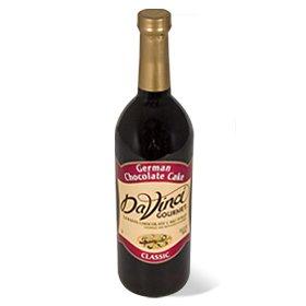 Da Vinci Cake (Da Vinci German Chocolate Cake Syrup, 750 ml Bottle (Glass))