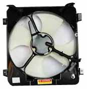 TYC 610280 Honda Civic Replacement Condenser Cooling Fan Assembly