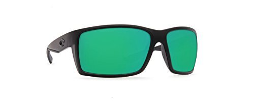 Costa Del Mar Reefton Sunglasses Blackout /Green Mirror 580Glass