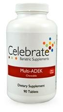 Célébrez multi-vitamine à croquer ADEK Berry Sorbet
