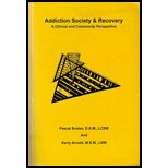 img - for ADDICTION SOCIETY+RECOVERY >CUSTOM< book / textbook / text book