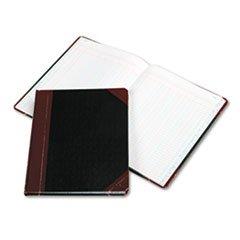 * Columnar Book, Six Column, Black Cover, 150 Pages, 10 3/8 x 8 1/8 *