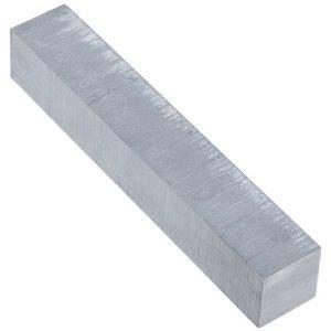 (Lava, Alumina Silicate Ceramic, Bar, Opaque Gray, 4