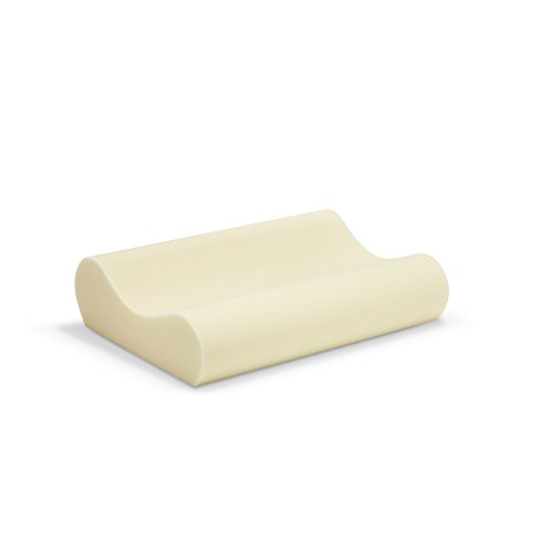 Sleep Innovations Memory Foam Contour Pillow With Cotton