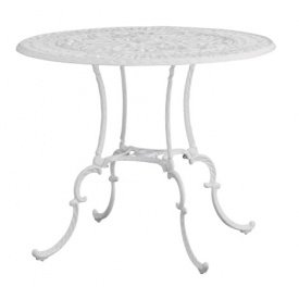 タカショー ジュノ テーブル85cm(ホワイト) ホワイト B00KYRQCQ0