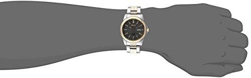 Seiko Men's SNE098 Solar Analog Japanese Quartz Silver Watch