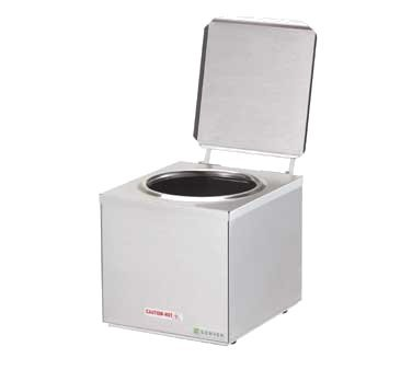 - Server Products DI-1 Single Dip Server, Cone Dip, (1) 3 qt. Stainless Steel Jar
