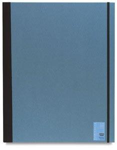 Daler-Rowney Cachet Studio Portfolio, Hard Cover with Elastic Closure, 12 x 16 inches, Gray (468311216)