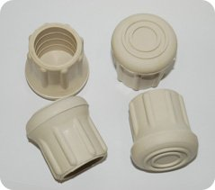 Taylor Made Rubber Chair Tips, Fits 7/8