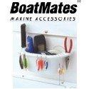 BoatMates Cockpit Organizer, White - Marine Storage