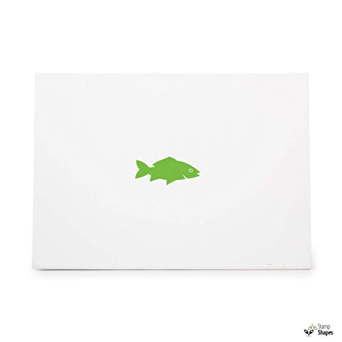 Fish, Rubber Stamp Shape Great for Scrapbooking, Crafts, Card Making, Ink Stamping Crafts, Item 62234