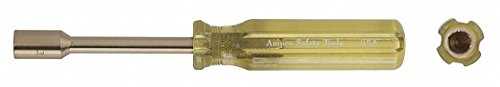 "5/32"" Nickel Aluminum Bronze Nut Driver, Yellow -  AMPCO"
