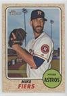 Mike Fiers (Baseball Card) 2017 Topps Heritage - [Base] #487