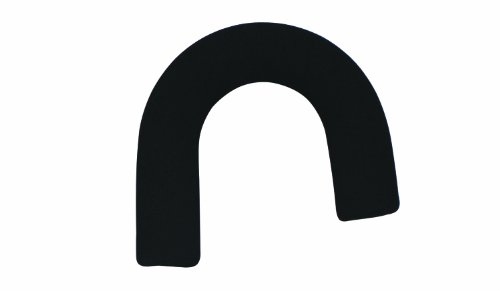 DMI Foam Hand Grip Replacement for Standard Handle Canes, Thick Cushioned Foam, Black
