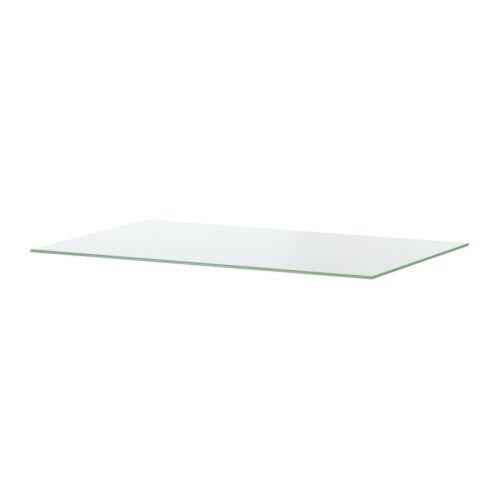 Parte superior de cristal transparente IKEA MALM.: Amazon.es ...