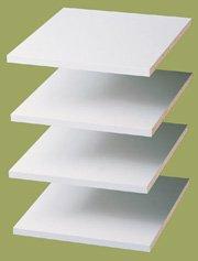 Easy Track RS1412 Shelves, White, 12-Inch