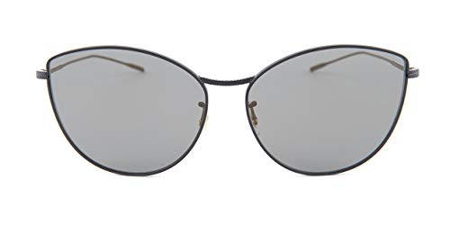 Oliver Peoples Women's Rayette Matte Black/Graphite Gold One ()