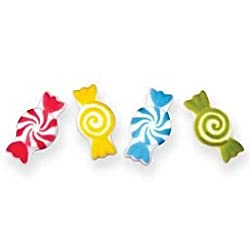 Edible Sugar Candy Dec Ons, Set Of 12