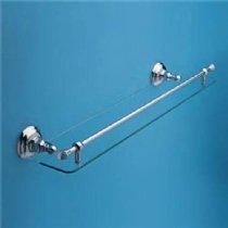 Rohl Bathroom Shelf - Rohl C1480-3 Country Bath Wide Glass Shelf