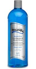 (BreathRx Anti-Bacterial Mouth Rinse (33oz)