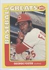 George Foster (Baseball Card) 1991 Swell Baseball Greats - [Base] #112