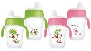 Avent 7 OZ Non-Spill Toddler Drinking Cup (2-Pack) Assorted Colors