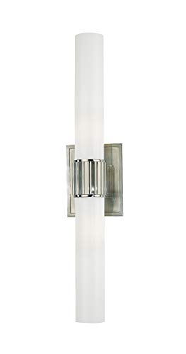 Hudson Valley Lighting 1822-SN Two Light Bath Bracket from the Fulton collection 2, Satin Nickel