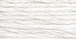DMC 1008F-S5200 Shiny Radiant Satin Floss, Snow White, 8....