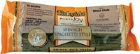 Timkyada Brown Rice Pasta Spinach Spaghetti Style, PACK OF 2 (12 oz. each)