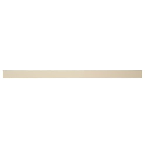 InPlace Shelving 0191408 36-Inch by 10-Inch by 2-Inch Square Edge Hidden Bracket Shelf, White by Lewis Hyman