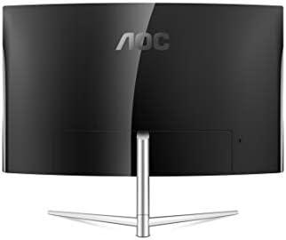 AOC C32V1Q 31.5″ Full HD 1920×1080 Monitor, Curved VA Panel, 4ms 75Hz, Frameless, HDMI/DisplayPort/VGA, Flickerfree, Low Blue Mode, VESA, Black 21yxFQSqGOL