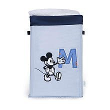 (Mickey Mouse Collapsible Canvas Storage - Blue)