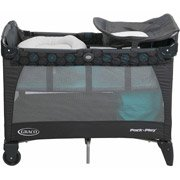 Graco Pack 'N Play Playard with Newborn Napper Station DLX, Bristol by Graco (Image #1)
